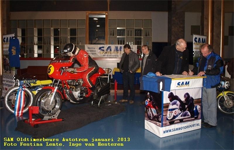 Een mooie stand voor SAM Motorsport