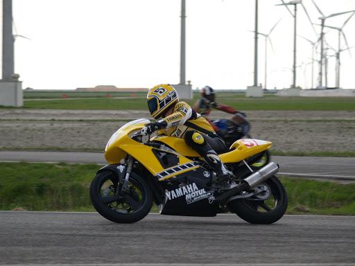 # 51 Ron Hand, Yamaha SupermonoSAM Klasse tot 750ccEemshaven 1 mei 2008