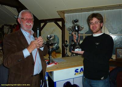 Jaarvergadering met de SAM-rijders. 9 januari 2011.