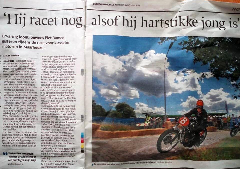 Eindhovens Dagblad over Soerendonk