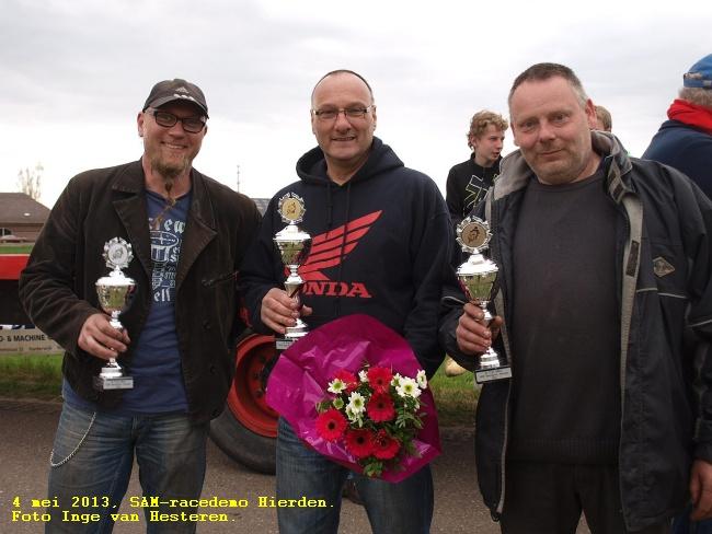 4 mei 2013, SAM-racedemo Hierden.Foto Inge van Hesteren.