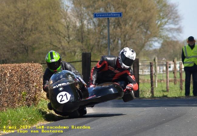 4 mei 2013, SAM-racedemo Hierden. Foto Inge van Hesteren.