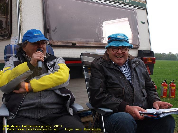 Sam-demo Luttenbergring 2013