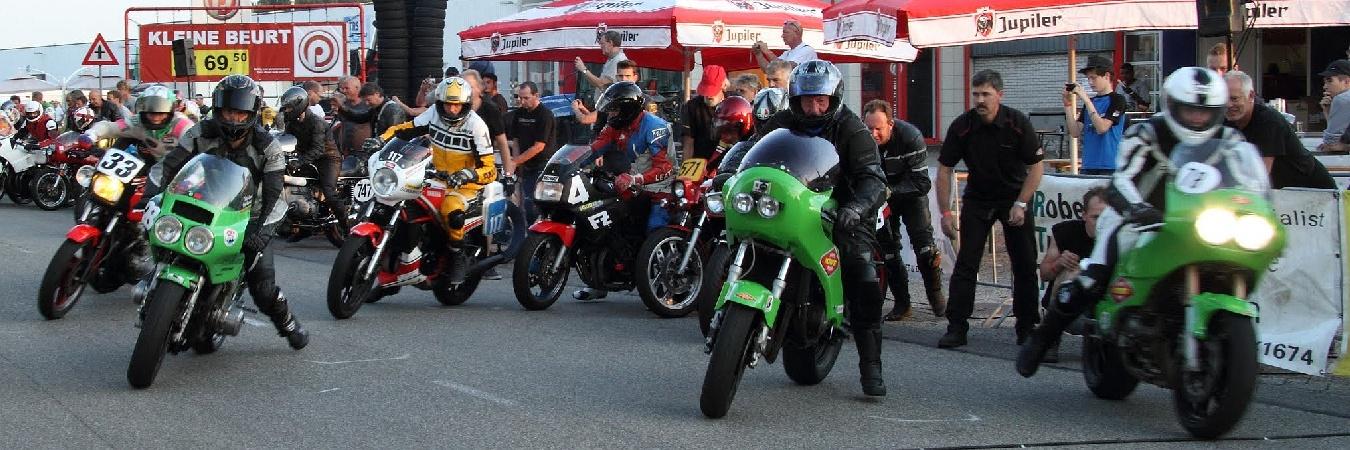 Le Mans start van 3 Uur van Aalsmeer