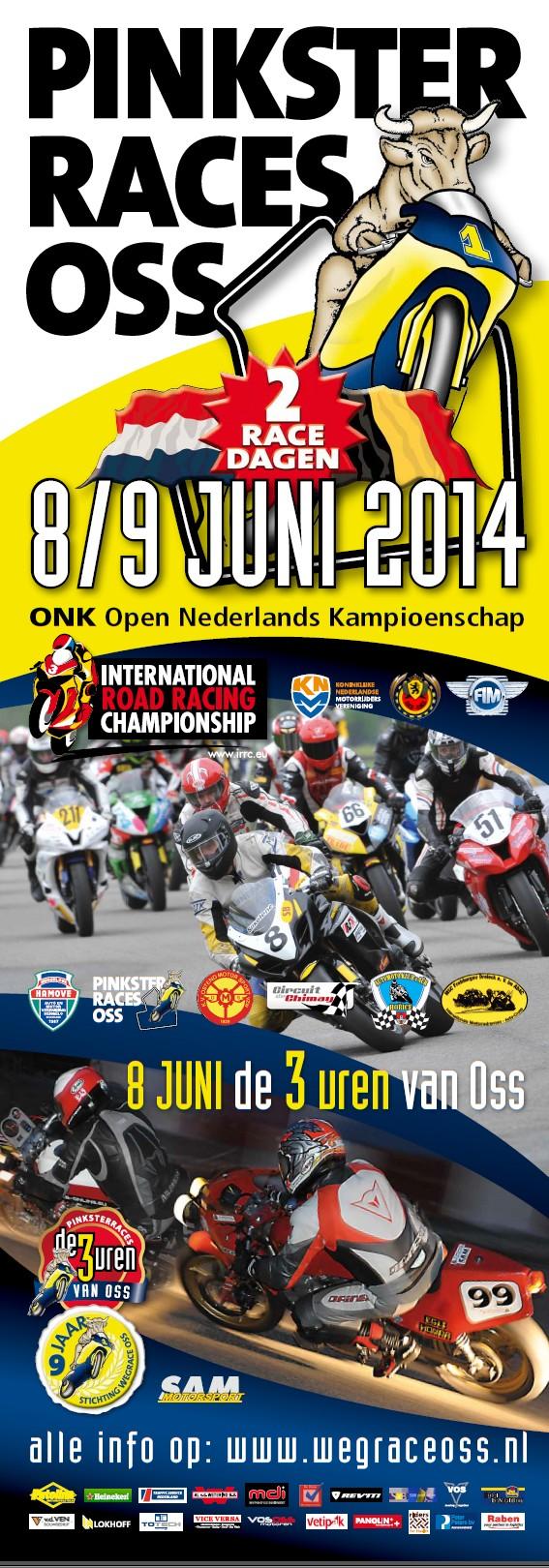 Poster Pinksterraces Oss 2014