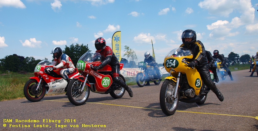 SAM-racedemo Elburg 2014