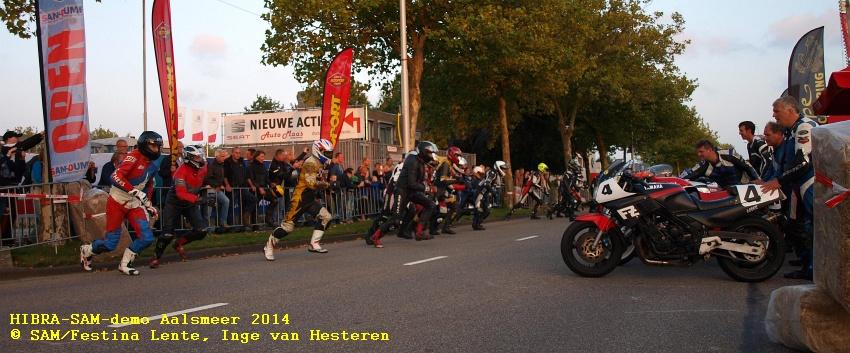 HIBRA-SAM-demo Aalsmeer 2014© SAM/Festina Lente, Inge van Hesteren