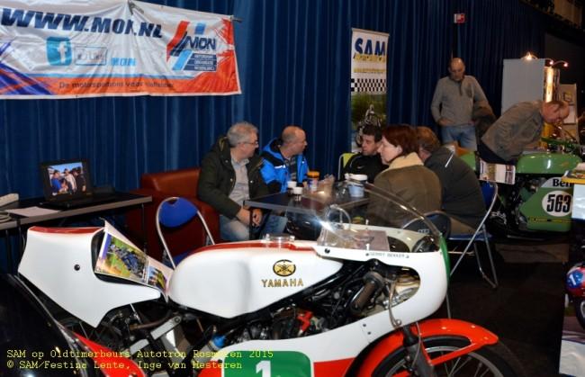SAM bij Oldtimerbeurs Autotron Rosmalen 2015