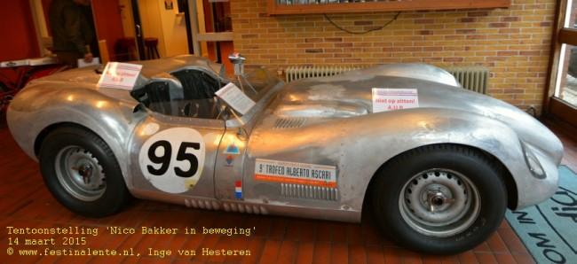Even een nieuwe achterkant voor deze klassieke racewagen, geen probleem.