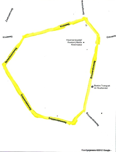 Circuit plattegrond Hierden