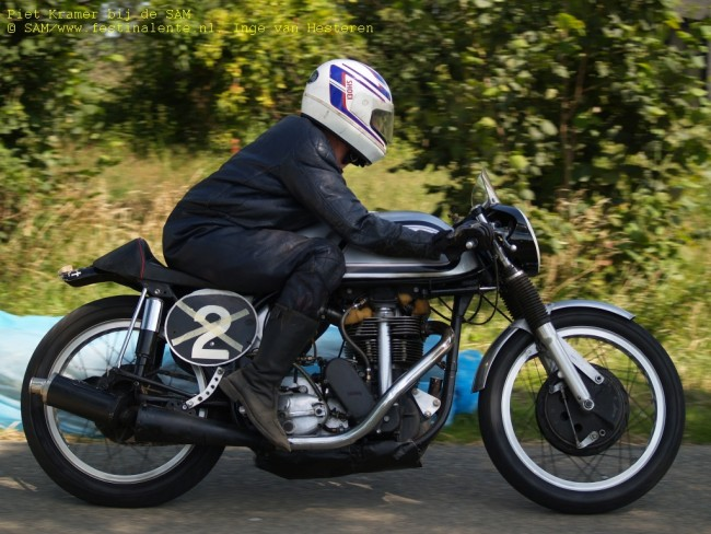 Piet Kramer, Norton Manx 500cc