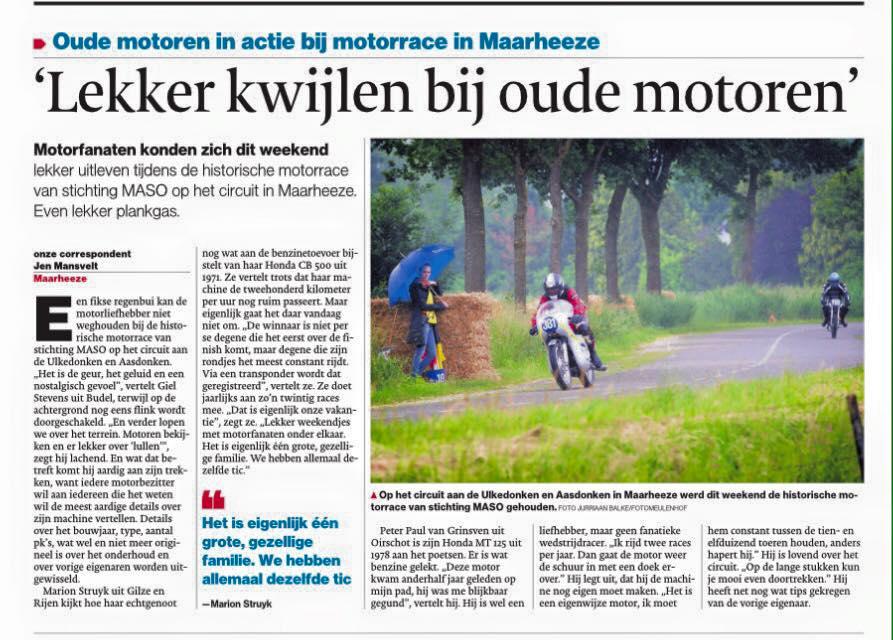 Eindhovens dagblad soerendonk 2016