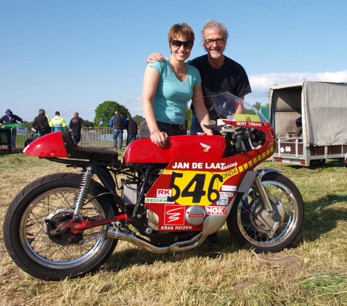 Marion en Bert Struijk (Foto: Archief Inge van Hesteren)