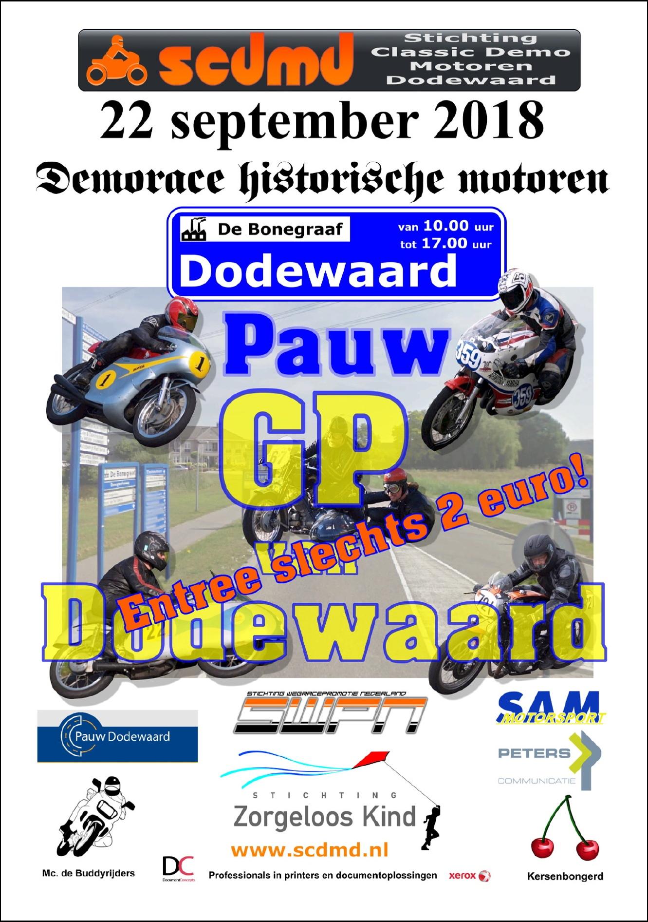 Pauw GP van Dodewaard poster 2018